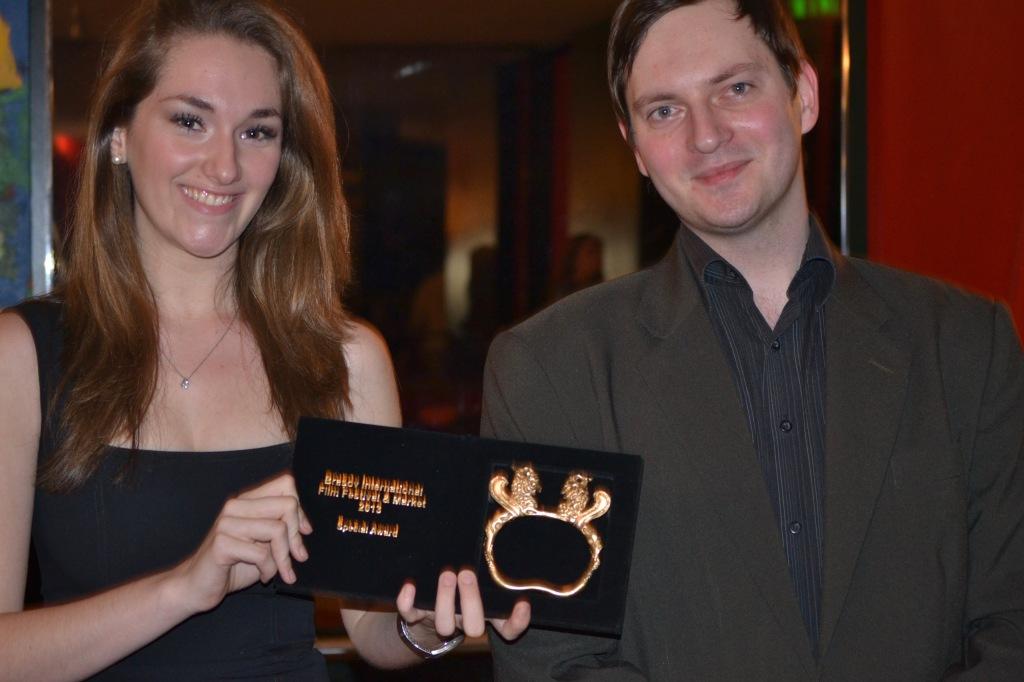 Sophia has been awarded at the Brasov International Film Festival & Market 2013