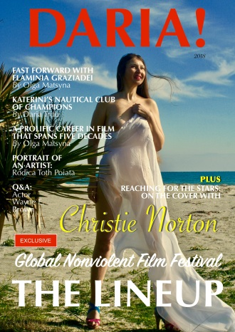 Christie Norton on the Cover of Daria Magazine 2018