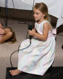 Taylor as a child... just a few years ago.