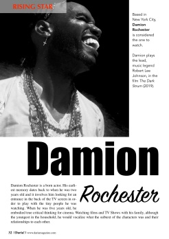 Damion in Daria! Magazine 2019