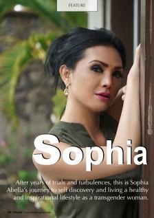 Sophia in Daria! Magazine 2019
